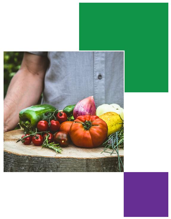 saturns garden offering fresh locally grown produce